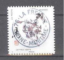 France Autoadhésif Oblitéré N°1380 (12 Signes Astrologiques Chinois : Cheval) (cachet Rond) - Usati