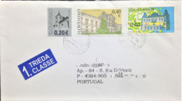 "Slovakia, Circulated Cover To Portugal, ""Architecture"", 2010 - Slowakische Republik"
