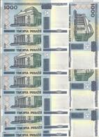 BIELORUSSIE 1000 RUBLEI 2000(2011) UNC P 28 B ( 10 Billets ) - Belarus