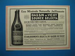 (1929) Bassin De VICHY - Source SELECTA -- Limonade De VICHY (Armand ANCEL, Successeur) - Non Classificati