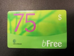 ST LUCIA   $75,-   B FREE    Prepaid Fine Used Card  ** 248** - Saint Lucia