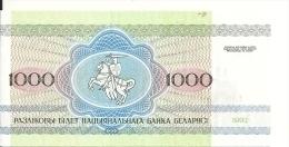 BIELORUSSIE 1000 RUBLEI 1992 UNC P 11 - Belarus