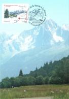 Carte Maximum YT 4441 150e Anniv Rattachement De La Savoie à La France 1er Jour 27 03 2010 RARE Plombières 88 TBE - Cartes-Maximum