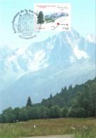 Carte Maximum YT 4441 150e Anniv Rattachement De La Savoie à La France 1er Jour 27 03 2010 Chambéry 73 Parfait état - Cartes-Maximum