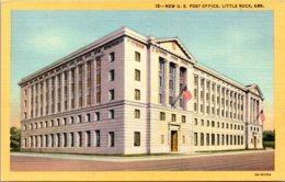 Arkansas Little Rock New Post Office Curteich - Little Rock