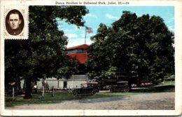 Illinois Joliet Dellwood Park Dance Pavilion 1947 - Joliet
