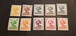 Dahomey Yvert TT 19-28** - Dahomey (1899-1944)
