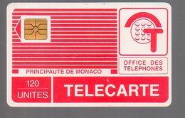 TELECARTE PHONECARD MONACO 120 U GEM Pyjama Rouge - Monaco