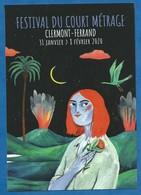 CPM Cinéma Festival Du Court Métrage De Clermont Ferrand 2020 Illustration Suza Monteiro Dos Non Imprimé - Andere