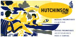 "S H/Buvard /Sports Camping Bateau  ""Hutchinson ""    (Format 21 X 10) (N= 1) - Sport"