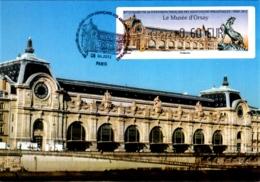 Carte Maximum ATM LISA Le Musée D'Orsay Oblitération Spéciale 1er Jour 85e Congrès De La FFAP 16 06 2012 Paris TBE - Cartes-Maximum