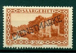 Sarre 1927-34 - Michel N. 24 - Timbres-poste De 1927-30 Surchargés (Y & T N. 18) - Officials