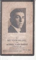 Achiel Van Daele (1904-1930) - Images Religieuses