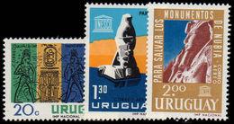 Uruguay 1964 UNESCO Nubian Monuments Unmounted Mint. - Uruguay