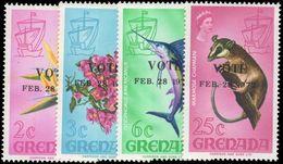 Grenada 1972 General Election Unmounted Mint. - Grenada (...-1974)