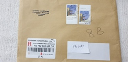 Hellas Greece 2003 2019 International Registered Letter To Italy - Greece