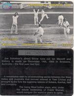 TRINIDAD & TOBAGO(GPT) - Cricket/Run Out, CN : 144CTTA(Lli, Normal 0), Used - Trinidad & Tobago