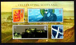 2006 Celebrating Scotland Souvenir Sheet Unmounted Mint. - Unused Stamps