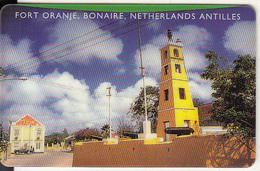 NETHERLANDS ANTILLES - Fort Oranje/Bonaire, Antelecom Prepaid Card $10, Exp.date 01/01/00, Used - Antillas (Nerlandesas)