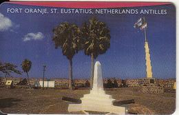 NETHERLANDS ANTILLES - Fort Oranje/St.Eustatius, Antelecom Prepaid Card $5, Exp.date 01/01/00, Used - Antillen (Nederlands)