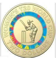 2020 Women's T20 World Cup $2 Cricket Memorabilia Coin - 2 Dollars