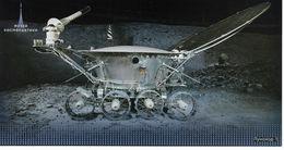 Russia 2018 Post Card, Space Museum, Lunokhod-1, Moonwalker-1, VF MNH** , New !! (AP-2) - Raumfahrt
