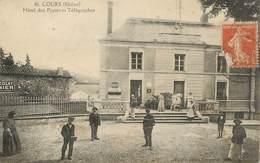 """.CPA  FRANCE 69 """" Cours, Hôtel Des Postes Et Télégraphes"""" - Cours-la-Ville"""