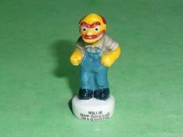 Fèves / Film / BD / Dessins Animés : Willie , Les Simpson , Hors Série     T138 - Dessins Animés