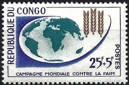 Congo (Braz) 1963 - Mi 26 - YT 153 ( Freedom From Hunger ) MNH** - Nuevas/fijasellos