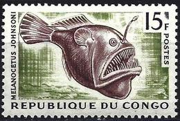 Congo (Braz) 1964 - Mi 58 - YT 147A ( Fish Depth ) MNH** - Congo - Brazzaville