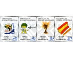 Ref. 254386 * MNH * - EQUATORIAL GUINEA. 2010. FOOTBALL WORLD CUP. SOUTH AFRICA-2010 . COPA DEL MUNDO DE FUTBOL. SUDAFR - Fußball-Weltmeisterschaft