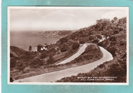Small Old Postcard Of Bouley Bay And International Hill Climb Circuit,Jersey,Channel Islands,S103. - Jersey