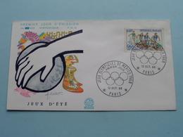 1968 > Jeux Olympiques D'été MEXICO > FDC N° 653 ( Stamp 12 Oct 68 Paris ) ( Voir / See Photo ) ! - Zomer 1968: Mexico-City