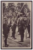 DT- Reich (008148) Propagandakarte Nürnberger Parteitag 1933, Der Führer Bei Der Weihe Der Neuen Feldzeichen, Gelaufen - Briefe U. Dokumente