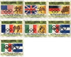 Ref. 26909 * MNH * - HONDURAS. 1968. GAMES OF THE XIX OLYMPIAD. MEXICO 1968 . 19 JUEGOS OLIMPICOS VERANO MEXICO 1968 - Zomer 1968: Mexico-City
