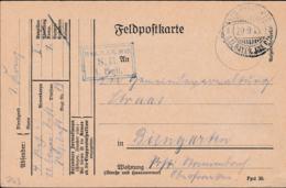German Feldpost WW1: Bay. Reserve Infanterie Regiment 13 P/m 29.9.1915 By 11. Bayer. Infanterie Division - Plain - Militaria