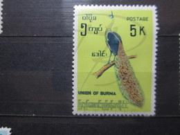 VEND BEAU TIMBRE DE BIRMANIE N° 101 , XX !!! - Myanmar (Birmanie 1948-...)