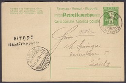 SH   1910   ALTORF / HOFEN -  SEHR SELTENE STEMPEL - TOP !!! - Briefe U. Dokumente