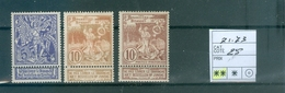 71-73 Xx Côte 25.00 - 1893-1907 Coat Of Arms