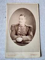 CDV Militaire Sous-officier Du 110 ème Régiment D'infanterie - Photo Malfait, DUNKERQUE - BE - Guerra, Militari