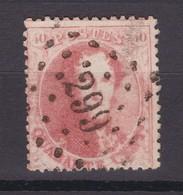 N° 16 B : 299  POPERINGHE COBA +20.00 - 1863-1864 Medallions (13/16)