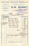 R.M.   BONNET ENGRAIS TOUTES MARQUES A NEXON HAUTE VIENNE  1944 - 1900 – 1949