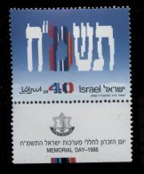 Israel ** N° 1029 - An. De L' Indépendance - - Israel
