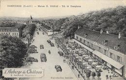 Dampierre (Seine-et-Oise) L'Auberge Du Château, Maison E. Narras (illustration) Carte Non Circulée - Hotels & Restaurants