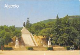 AJACCIO - La Statue De L'Empereur Napoléon Au Casone - Ajaccio