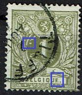 42  Obl  Tilff (+4) + Coquille B + QUF - 1869-1888 Lion Couché
