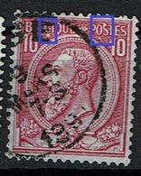 46  Obl  LV 6  Voit  G Et OS - 1884-1891 Léopold II