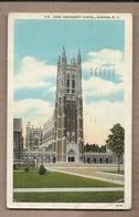 CPA USA - DURHAM - Duke University Chapel - TB PLAN EDIFICE RELGIEUX - Durham