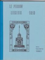 Belgique LE PERRON LIEGEOIS 1919  Par Leo Tavano  62 Pages - Manuali