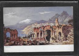 AK 0440  Perlberg , F. - Taormina ( Mittelmeer ) / Künstlerkarte Um 1910-20 - Perlberg, F.